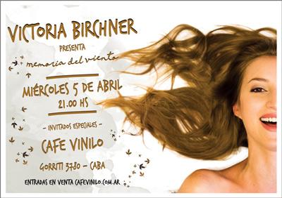Presentacion en Cafe Vinilo